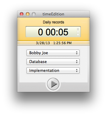 timeEdition free time tracking software | MacMaven