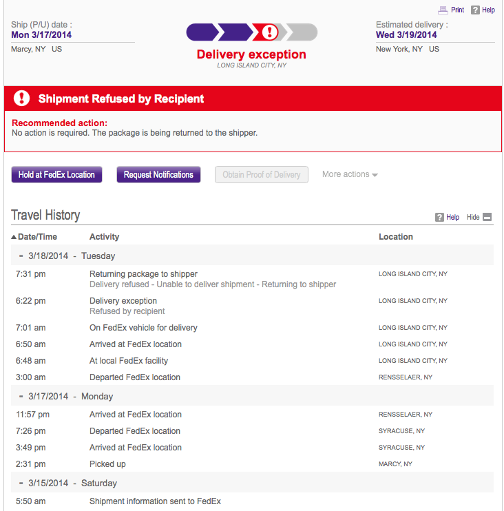 Fedex Astonishingly Mind Blowingly Laughably Bad Service